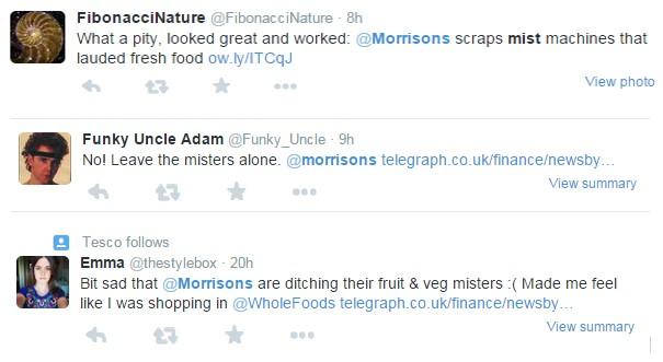 Morrisons Tweets Two