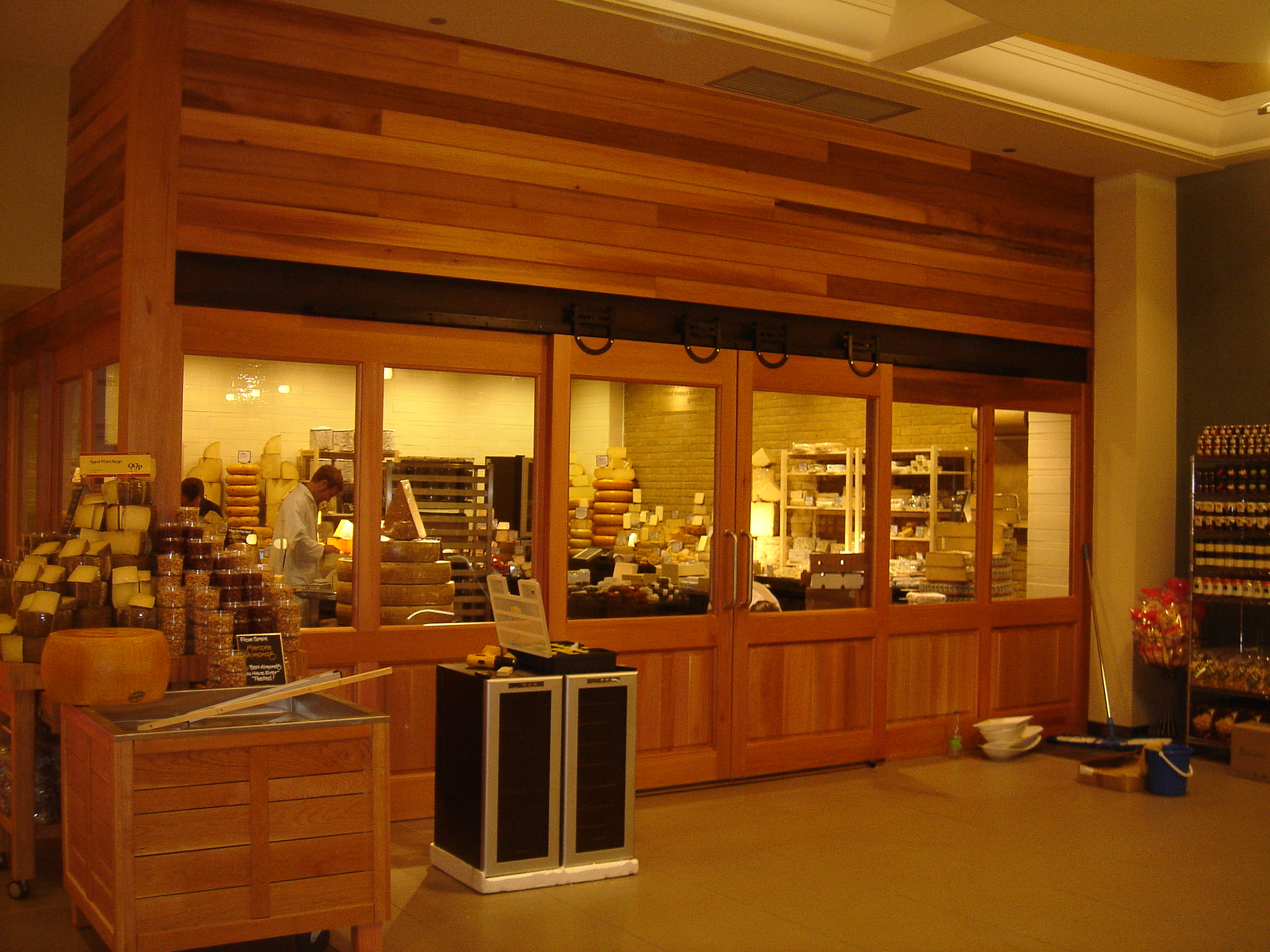 Wholefoods Cheese room 1