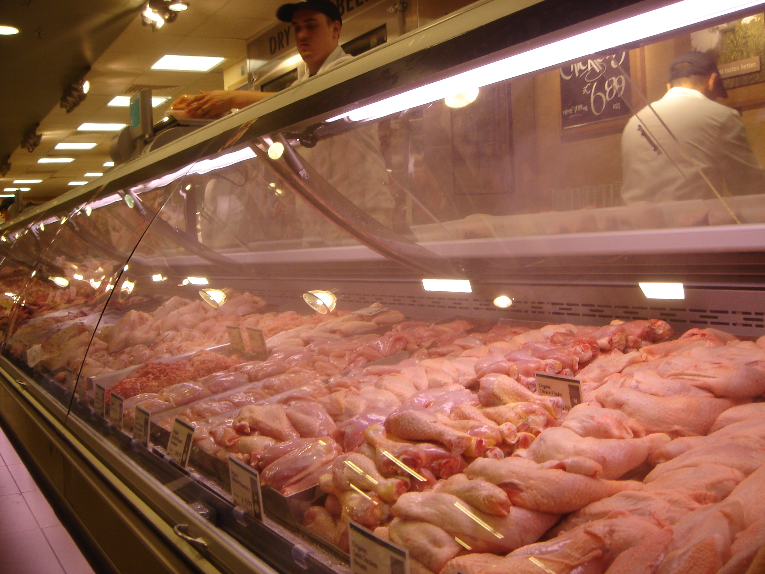 @Wholefoods (Kensington) Chicken counter